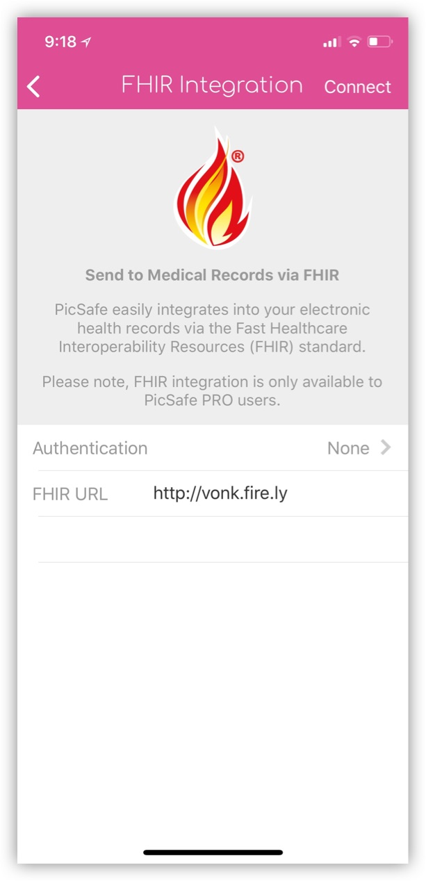 PicSafe Is Literally On FHIR