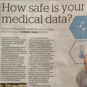 How safe is your medical data thumb