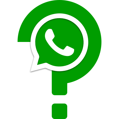 Whatsapp question mark
